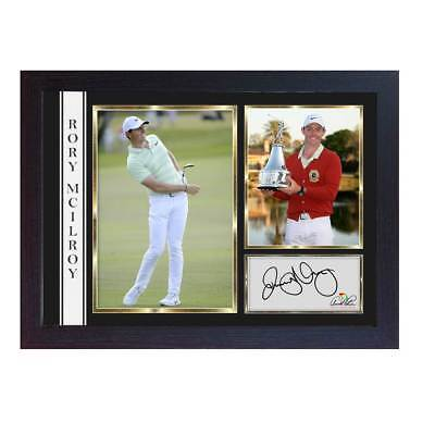 new 2018 Rory Mcilroy signed autograph photo Arnold Palmer Invitational Framed