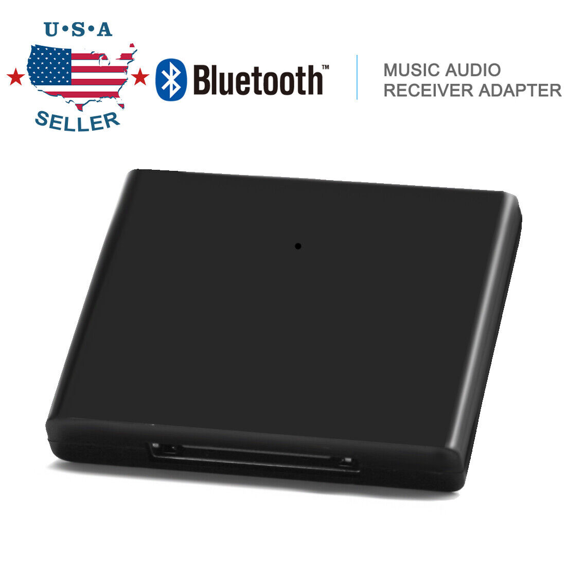 Bluetooth Music Audio Receiver Adapter For iPod iPhone 30 Pi