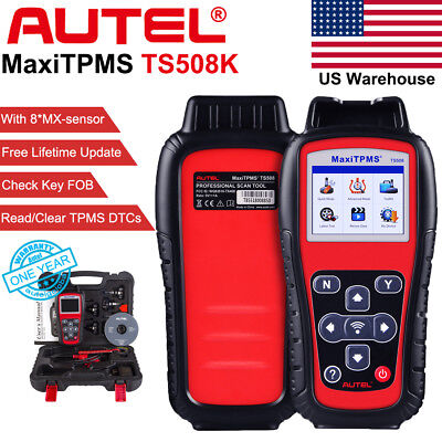 Autel MaxiTPMS TS508K Premium KIT Sensor Tire pressure Auto Code Scanner Tool