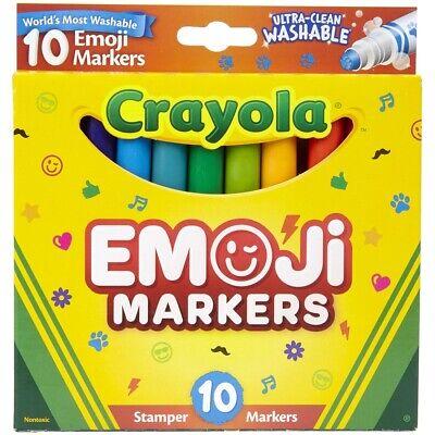 Crayola; Ultra-Clean; Stamper Markers; Art Tools; 10 ct. Mar