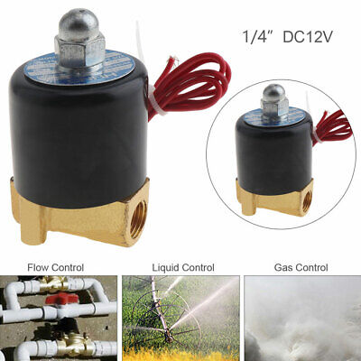 14 Inch Dc 12v Normally Closed Electric Solenoid Valve For Water Oil Gas