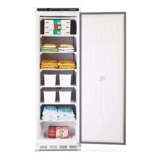 Single Solid Door Upright Freezer 365Ltr White