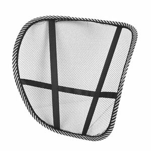 BRAND NEW BACK REST COOLING AIR MESH LUMBAR SUPPORT CAR SEAT OFFICE CHAIR EBay