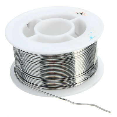 100g 0.8mm 6040 Tin Lead Solder Wire Rosin Core Soldering 2 Flux Reel Tube Lw