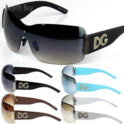 New WB Womens Sunglasses Designer Shades Fashion Shield Metal Heart Rimless (Sunglasses New Fashion)