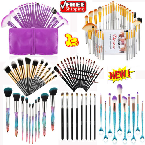 32Pcs Makeup Brushes Kit Eye Shadow Eyeliner Powder Eye Crys