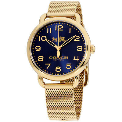 Coach Delancey Quartz Movement Blue Dial Ladies Watch 14502665