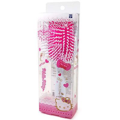 Hello Kitty Square Cushion Women Hair Brush Styling Curling Plastic Comb HK077