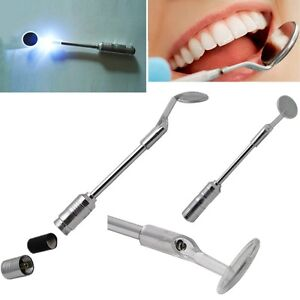 New Bright Durable Dental Mouth Mirror with LED Light