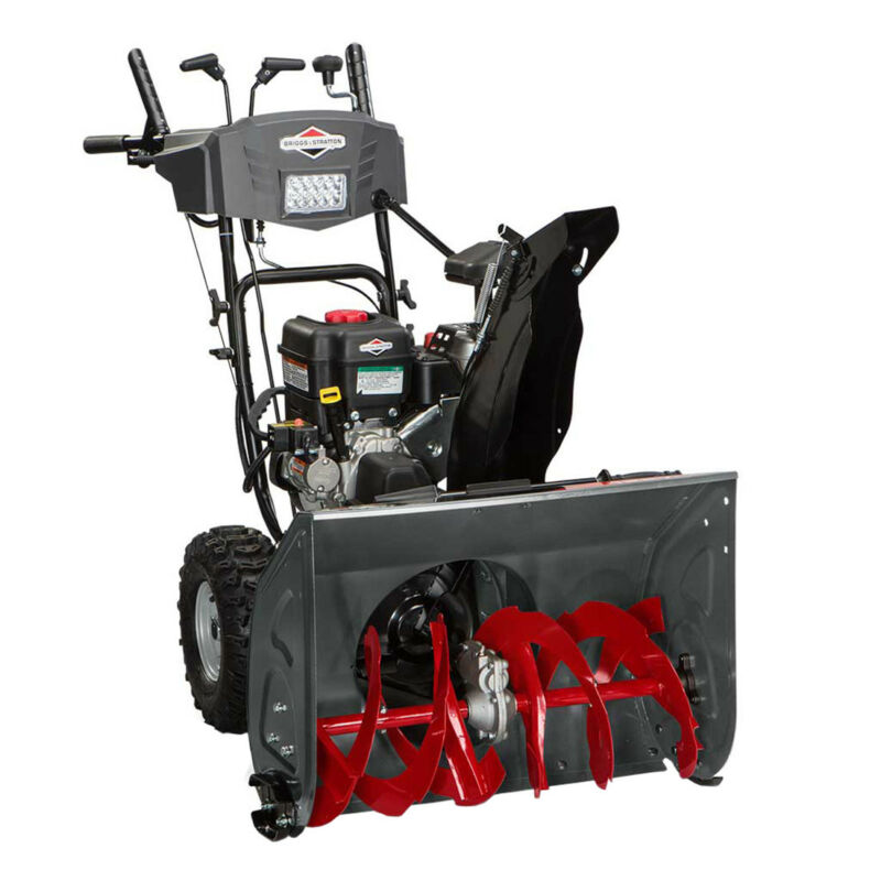 "Briggs & Stratton 1150 27"" Free Hand Control 250cc Dual Stage Gas Snow Blower"