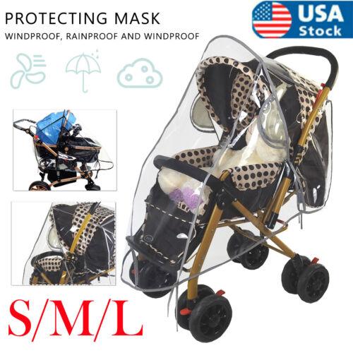 Universal Stroller Rain Cover Baby Kid Travel Weather Shield Wind/Snow/Dustproof