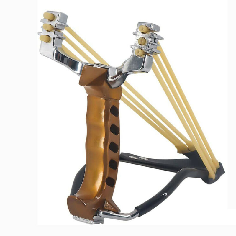 Hunting Aluminum Alloy Heavy Duty Slingshot Wrist West Kit For Adult Boys Teens