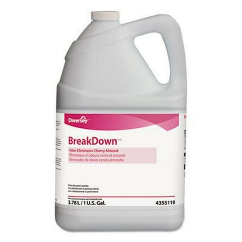 Pack of 1 - Diversey BreakDown Odor Eliminator Concentrate 1 gal, 128 fl oz