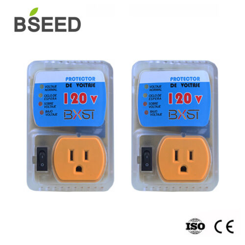 2 Pack 4400 WATTS Home Appliance Surge Protector Voltage Bro