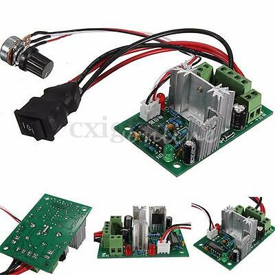 Universal Motor Speed Switch Control Reversible PWM Regulator 3A DC 10V 12V 24V