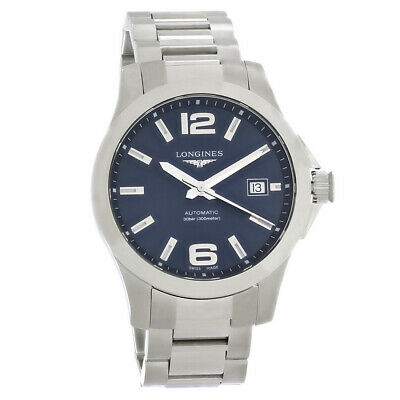 Longines Conquest Classic Mens Swiss Automatic Watch L3.776.4.99.6