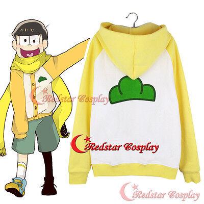 Mr.Osomatsu San Juushimatsu Matsuno Jacket Hoodie Sweater Coat Cosplay Costume D (Mr D Costume)