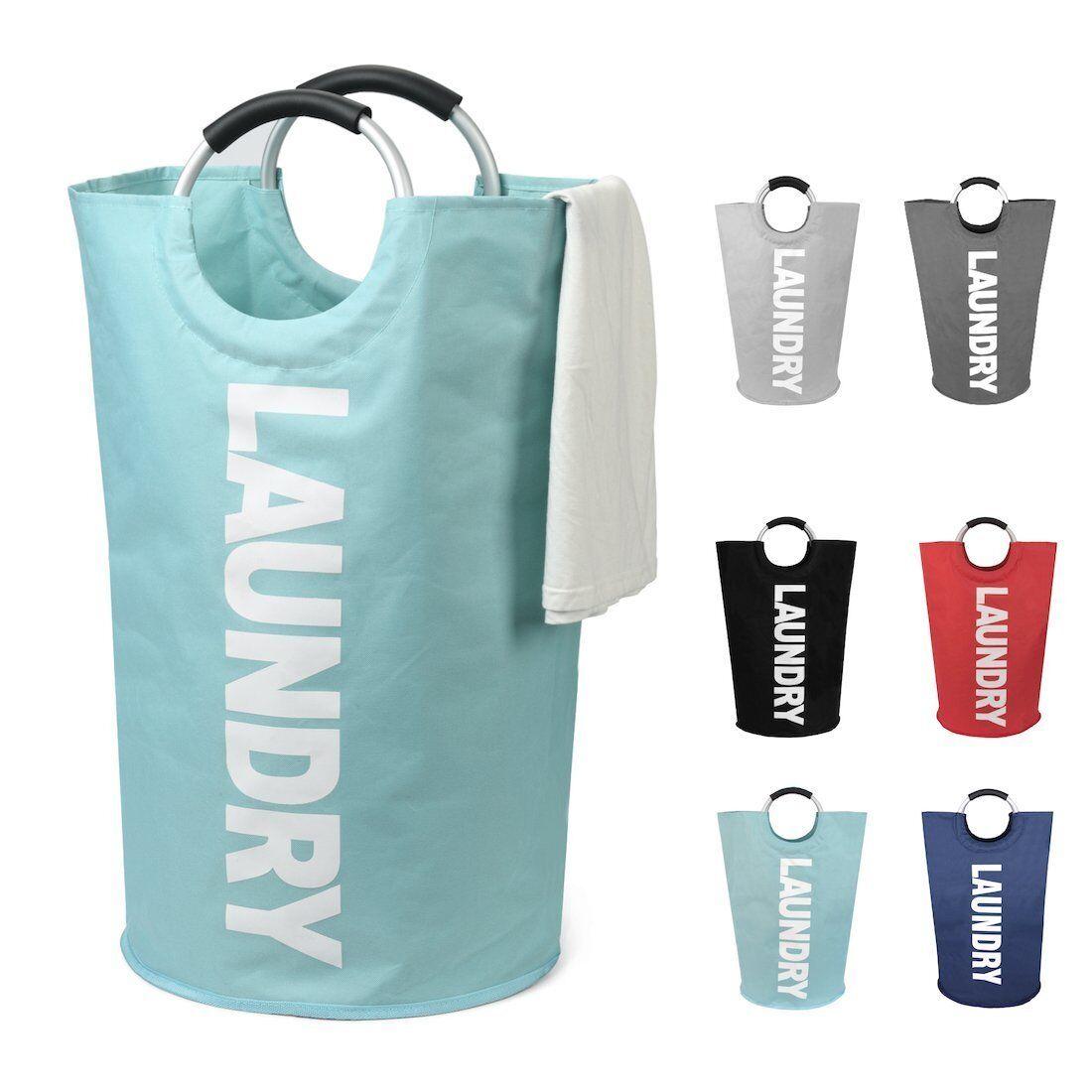 Large Laundry Basket, Collapsible Laundry Hamper, Foldable C