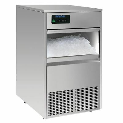 Polar Bullet Ice Maker 50Kg/24Hr Stainless Steel Commercial Kitchen Machine