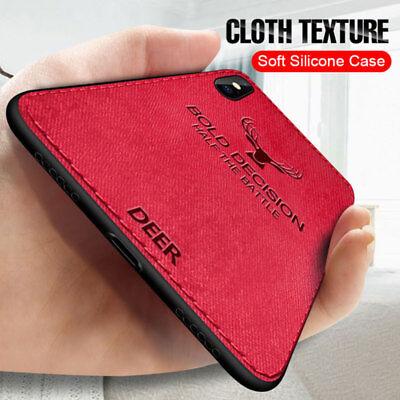 Slim HandyHülle für iPhone XS Max X XR 8 7 6 Plus Hybrid Soft Cover Case Taschen