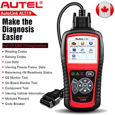 Original Autel AL519 CAN OBD2 Scanner Car Diagnostic Code Reader Auto Scan Tool