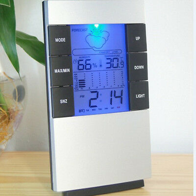 LCD Digital Thermometer Hygrometer Weather Station Temperature Monitor
