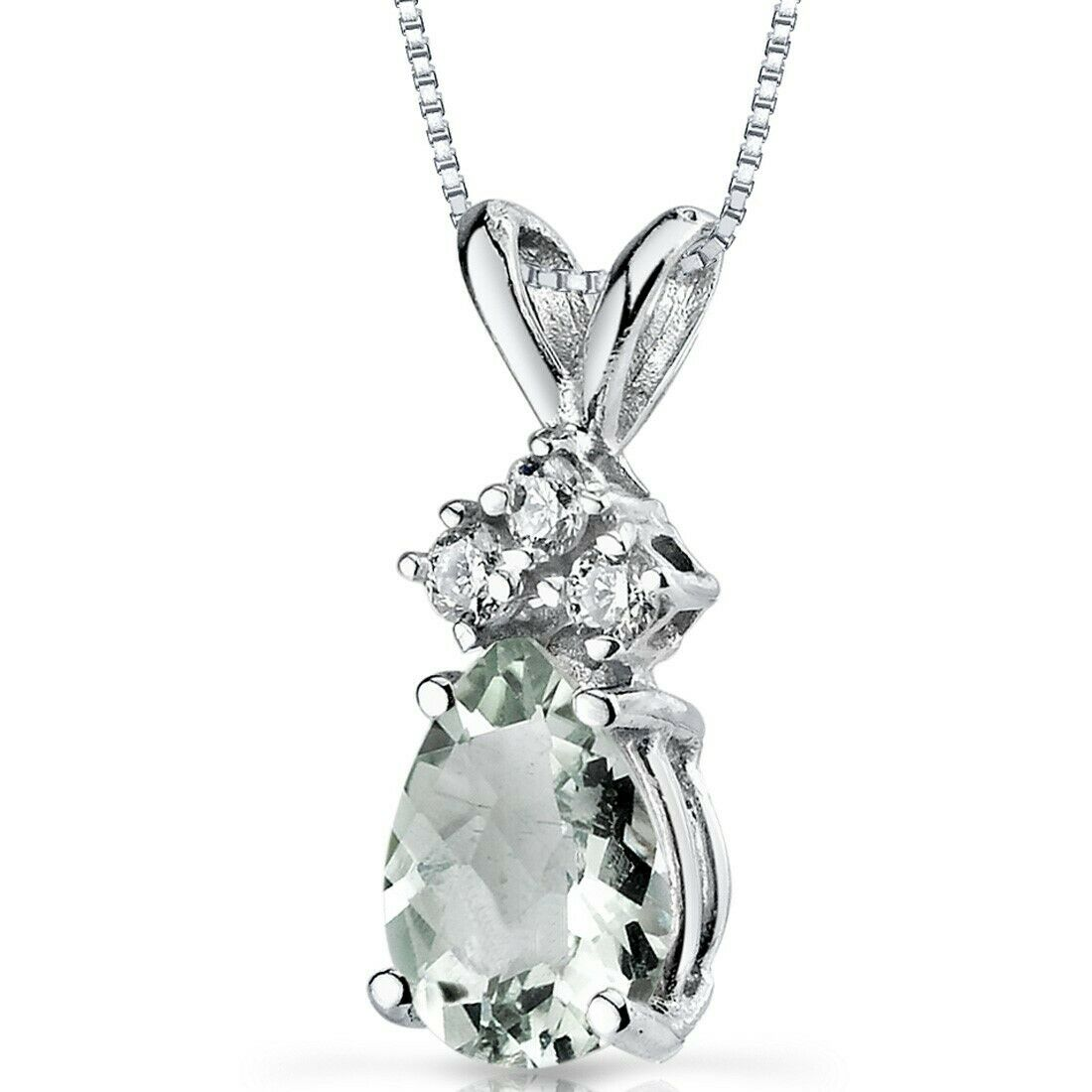 17 mm Occupational Therapist Pendant Jewels Obsession 14K White Gold O.T