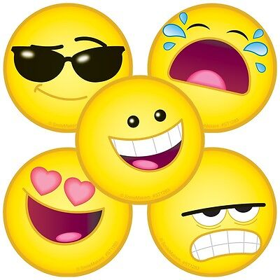 25 Emojis   Emoji Stickers  2 5  X 2 5  Each  Party Favors