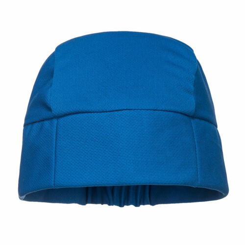 NEW Portwest CV11 BLUE COOLING CROWN BEANIE ELASTICATED BACK ONE SIZE 50+ UPF