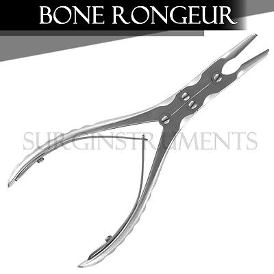 Double Action Bone Rongeur 6 15cm Straight Jaw Surgical Orthopedic Instruments