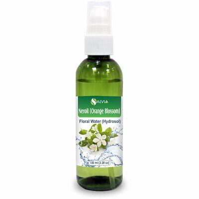 Neroli (Orange Blossom) Floral Water 100ml (Hydrosol) 100% Pure And Natural -