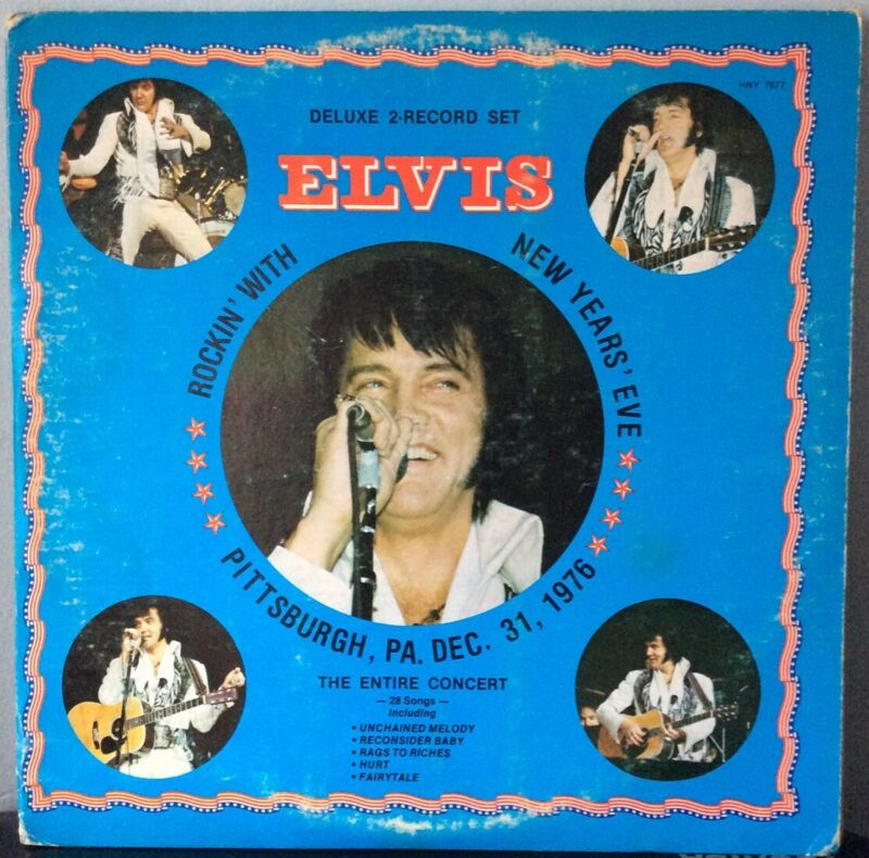 Elvis Presley. Rockin' With Elvis New Years Eve (2 LP Set)