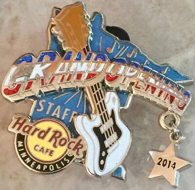 Hard Rock Cafe MALL of AMERICA MOA 2014 Grand Opening STAFF PIN Minneapolis (Mall Of America Open)