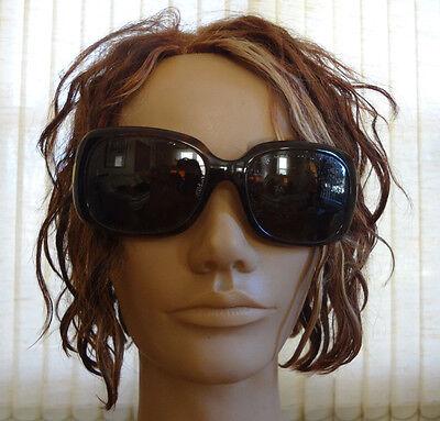 Women's Ralph Lauren Model 8044 55◻17 Brown Gold Frame Sunglasses Made in (Ralph Lauren Women Models)