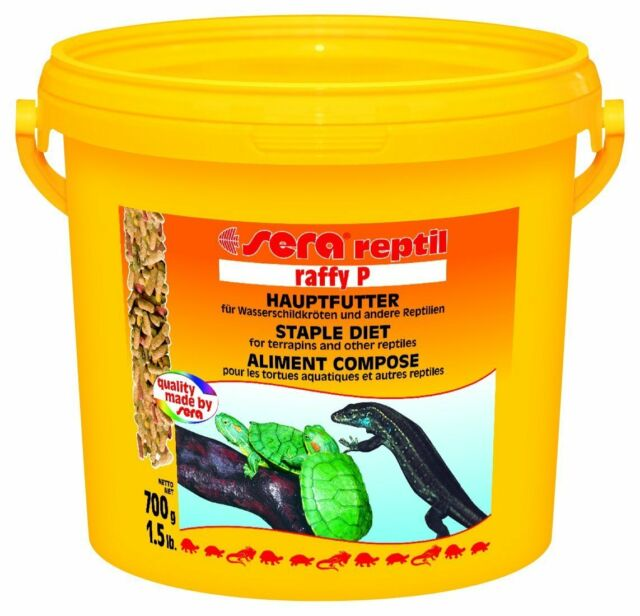 Sera Reptil Raffy P Staple Diet for Terrapins and other Reptiles 700g/3.8L