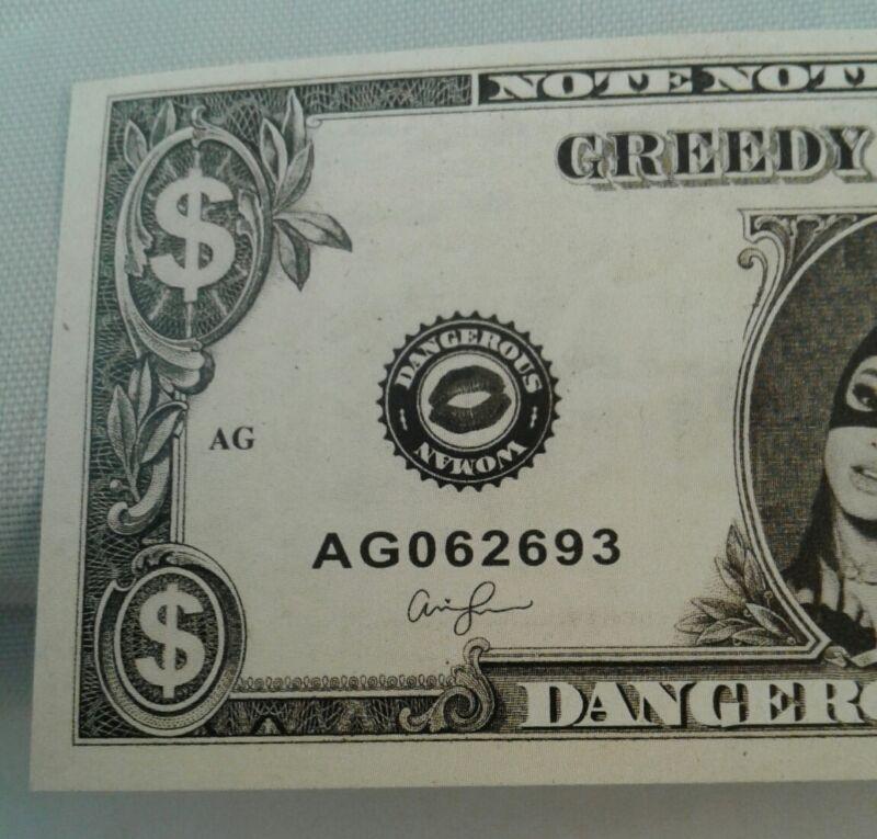 Ariana Grande Dangerous Woman Tour Concert Dollar Money Prop Confetti Two Pack
