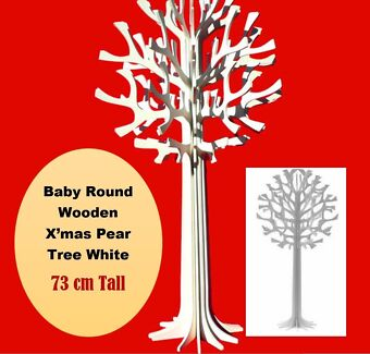 White wooden tree - Woodlands/Enchanted garden
