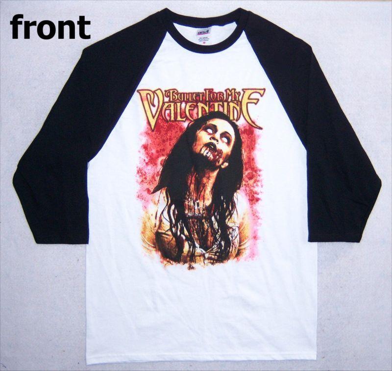 Bullet For My Valentine Dead Girl Baseball Shirt XL New