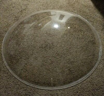 FLAT EARTH DOME for model or experiment Large flat earth dome - plastic - used