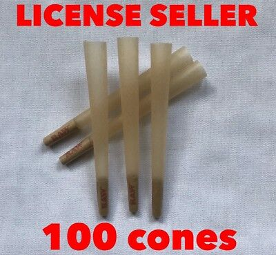 RAW cone classic 98 special size pre rolled cones with Filter(100 cones)