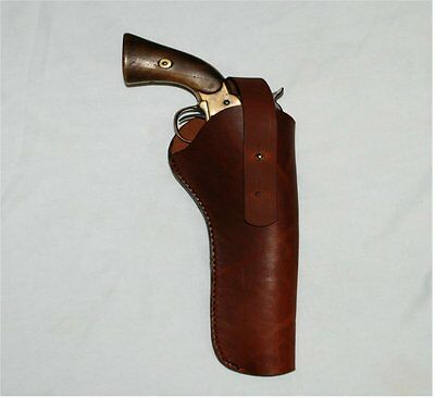 Western Pistols Drawing Cross Draw Leather Pistol