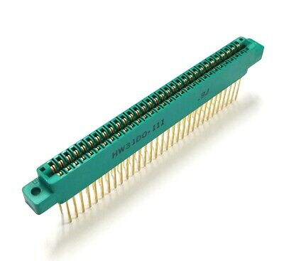 Winchester Hw31d0-111 0.100 2.54mm 31 Position 62 Pin Card Edge Connector