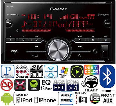 Pioneer 2 Din Media Player Radio Bluetooth Pandora Iphone USB MVH-X690BS NO CD