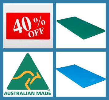100% Australia Made Gymnastic Yoga and Aerobic Floor Exercise Mat