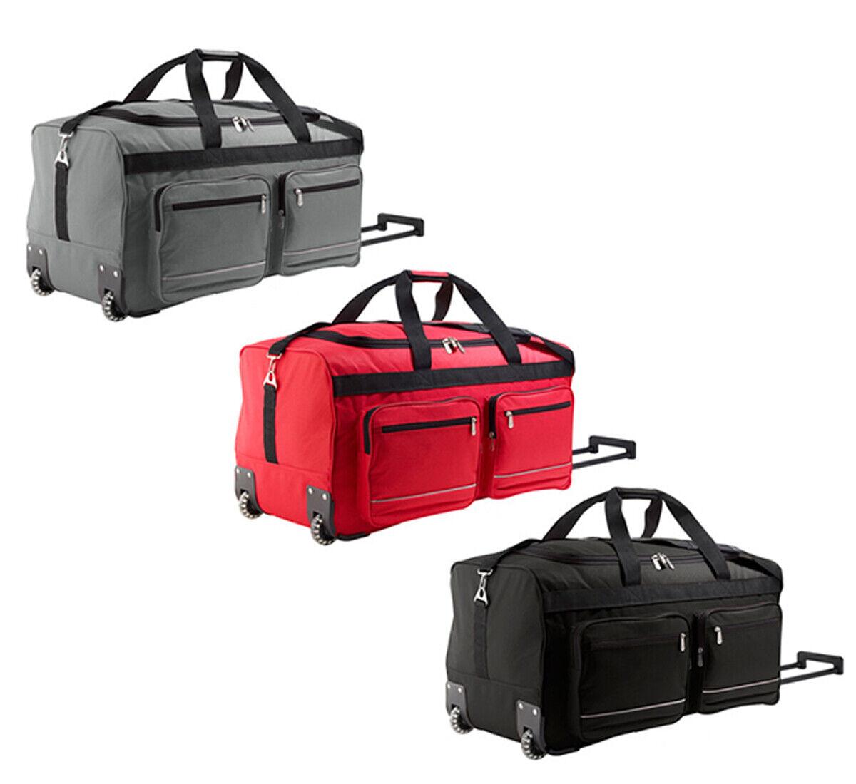 Herren Reisetasche mit Rollen Sporttasche Trainingstasche Travel Bag