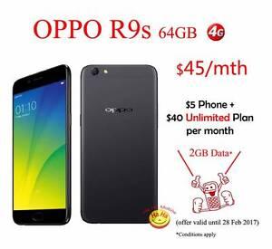 New Unlocked OPPO R9s 64GB Australian Stock Contract $45/mth Auburn Auburn Area Preview
