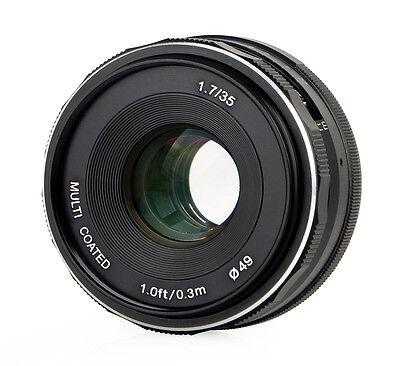 35mm F/1.7 Meike Objektiv für Micro Four Thirds, multicoated