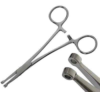 Septum Forceps Piercingzange für das Septum sterilisierbar Chirurgenstahl Zange
