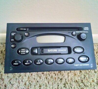 2003 Saturn VUE Radio/Stereo with CD Player, Cassette Deck, & AM/FM Saturn Vue Radio