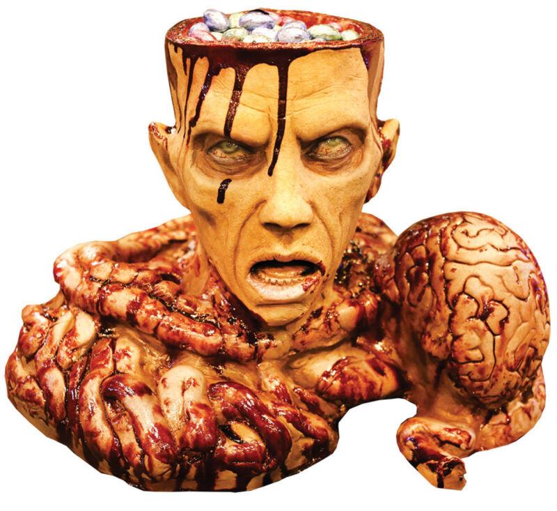 Morris Costumes Halloween Brain Bowls & Trays Latex Foam Decorations & Props
